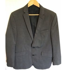 🆕MENS GREY KENNETH COLE SUIT JACKET (BT-15)